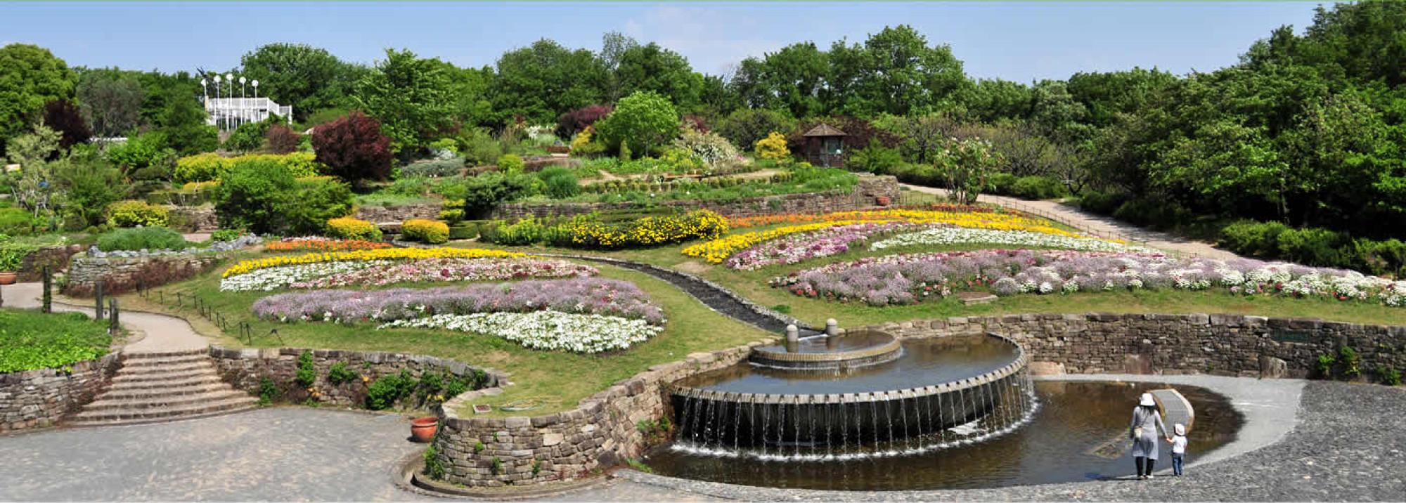 東山動物園の隣にある植物園