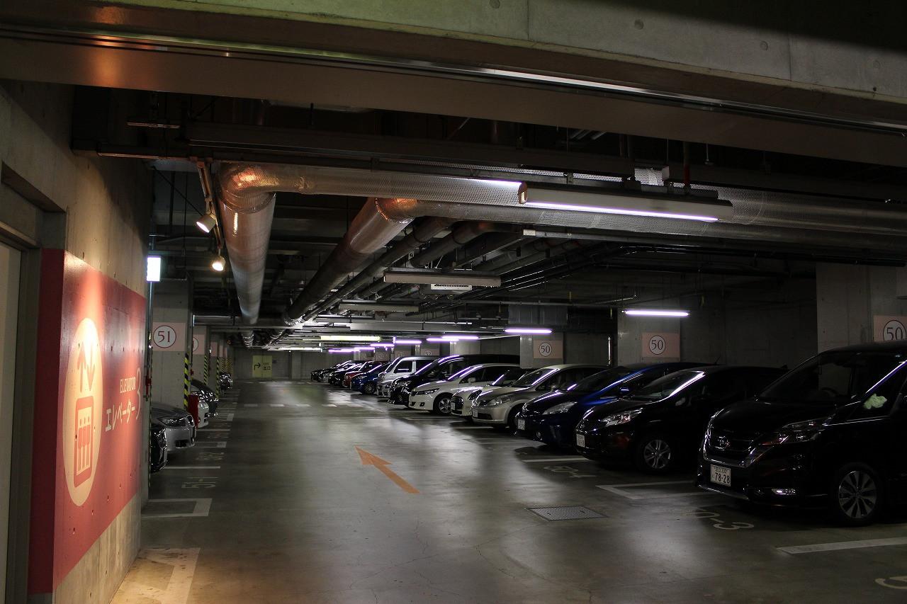 イクスピアリの駐車場