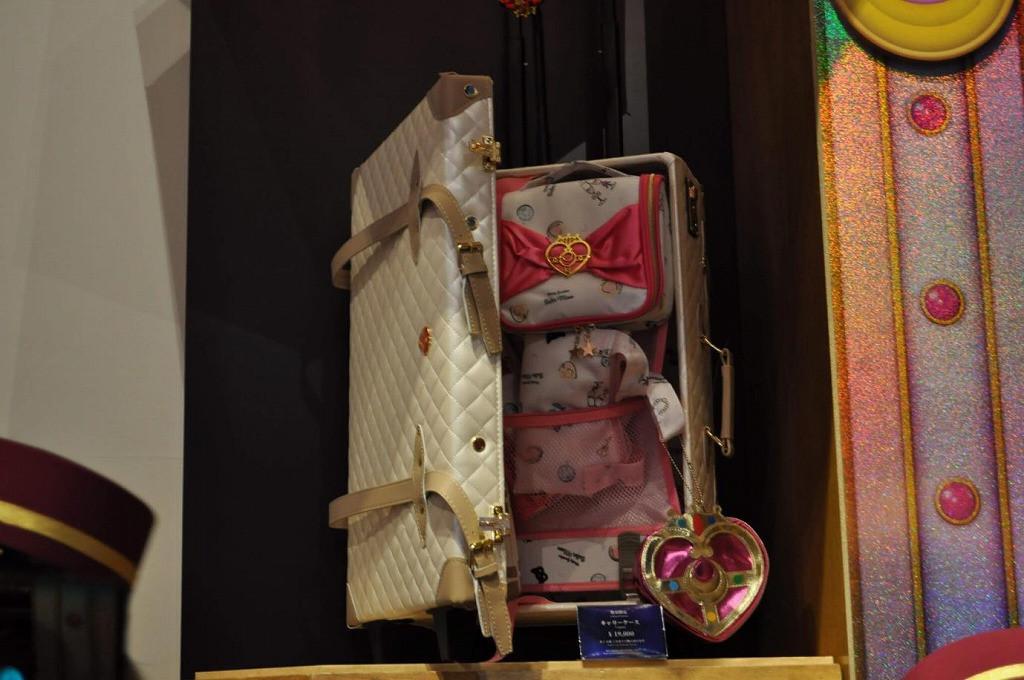 セーラームーンの旅行バッグと旅行アイテム/ユニバーサルクールジャパン2019