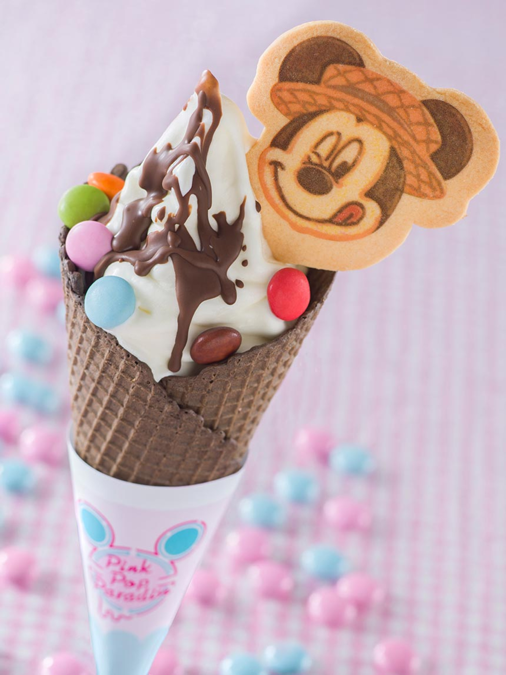 ソフトクリーム&チョコレート