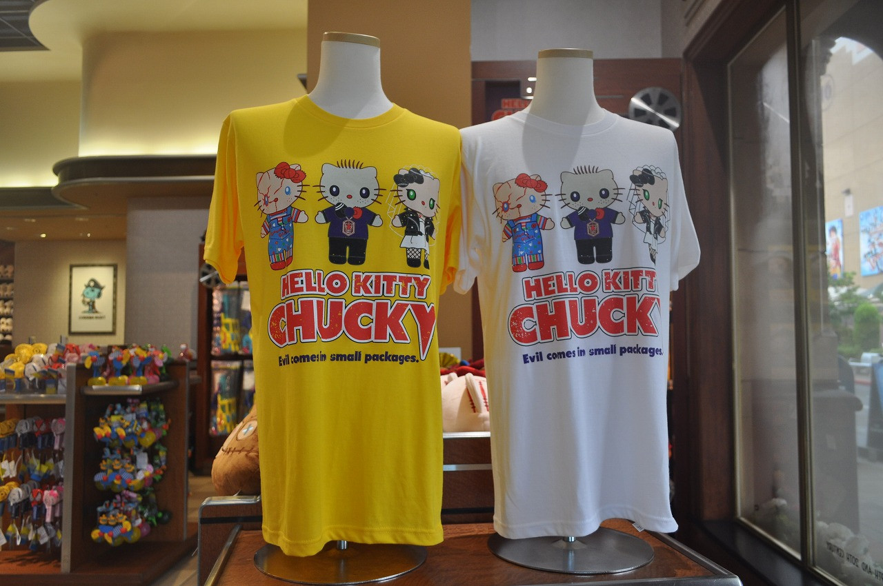 チャッキーのTシャツ