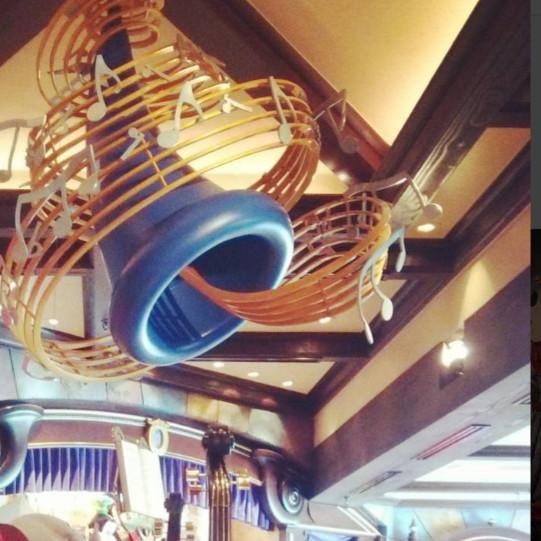 ハーモニーフェアの天井