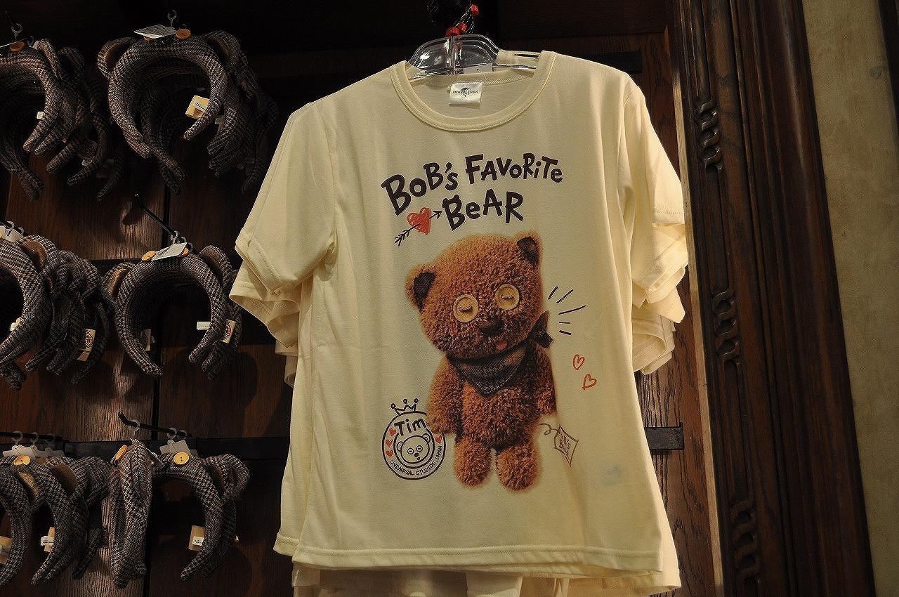 BOB's FAVORITE BEARシリーズのティムTシャツ