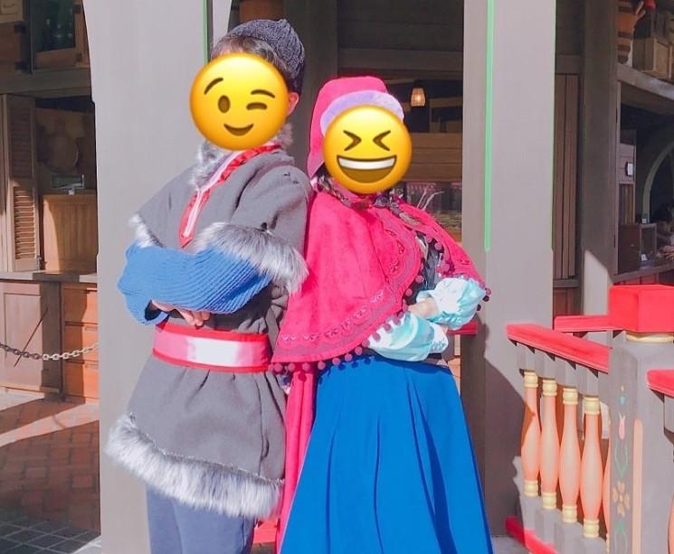 ディズニーカップル仮装⑥アナ&クリストフ