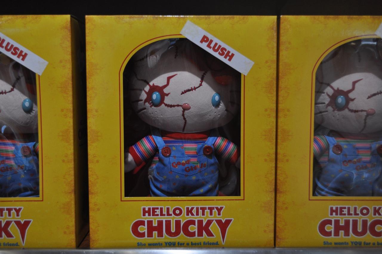 チャッキーキティ人形