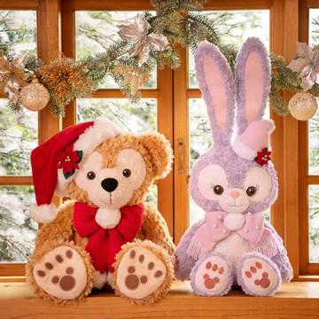 【最新】ダッフィークリスマス2019グッズまとめ!ぬいぐるみ&ツリーが新登場!ぬいぐるみバッジも!