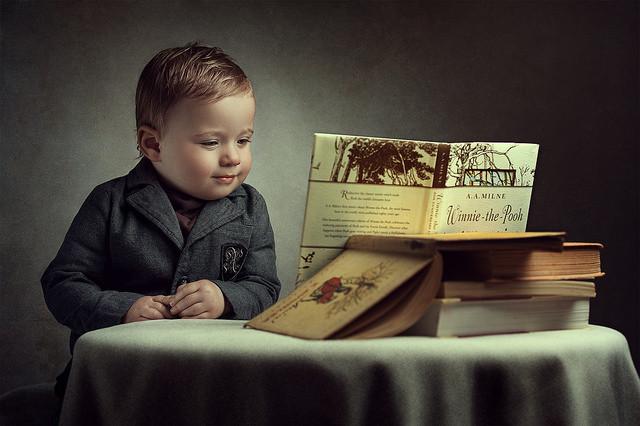 イギリスではかなりメジャーな児童文学である「くまのプーさん」 https://www.flickr.com/photos/adam_f79/17350195591