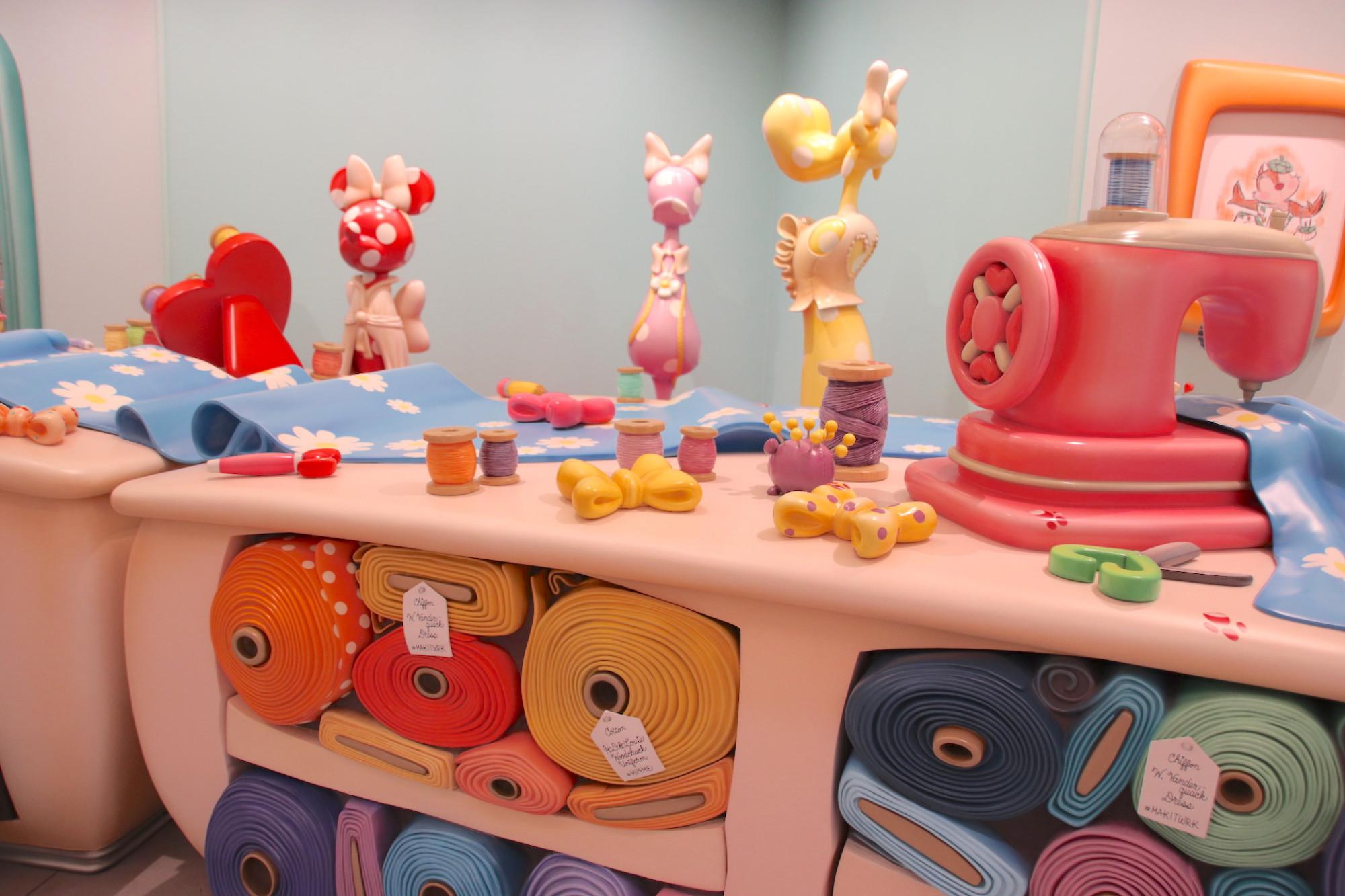 ミニーのスタイルスタジオ(ワークルーム)