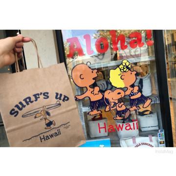【ハワイ】モニ・ホノルルの日焼けスヌーピーグッズまとめ!Tシャツ、トートバッグ、カップも