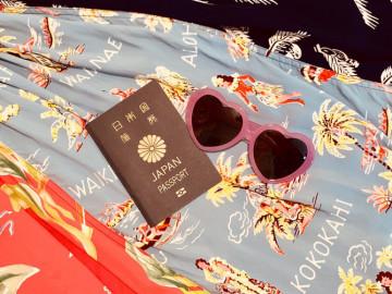 【ハワイ旅行の準備】簡単7ステップまとめ!旅行スケジュール・パスポート・ESTA・持ち物など!